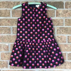 Gymboree Dress With Polka Dots Size 4